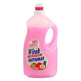 Жидкость для автоматической стирки цветных тканей, Wirek 4 л