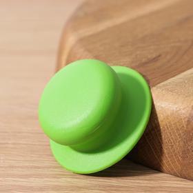 {{photo.Alt || photo.Description || 'Ручка для крышки на посуда с саморезом, d=6 см, цвет зелёный'}}