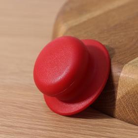 {{photo.Alt || photo.Description || 'Ручка для крышки на посуда с саморезом, d=6 см, цвет красный'}}