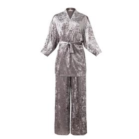 Костюм (жакет, брюки) KAFTAN, 52-54, серый
