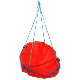 Качель-гамак детская «Кенгуру» d=750, цвет красный