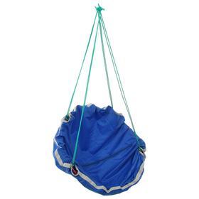 Качель-гамак детская «Кенгуру» d=750, цвет синий