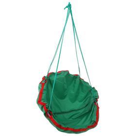 Качель-гамак детская «Кенгуру» d=750, цвет зелёный