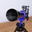 """Набор обучающий """"Опыт"""": телескоп настольный , сменные линзы 20х/ 30х/ 40х, микроскоп 100х/ 200х/ 450х, инструменты для исследования - фото 106533174"""