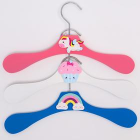 Плечики детские Princess, виды МИКС, размер 30-34