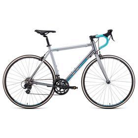 "Велосипед 28"" Forward Impulse, 2021, цвет серый матовый/бирюзовый, размер рамы 480 мм"