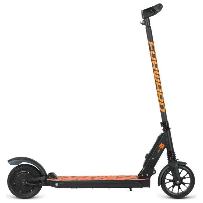 """Электросамокат Forward Tiger, колеса 8"""", P 24V250W, 20км/ч, цвет черный/оранжевый - фото 4894883"""