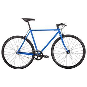 """Велосипед 28"""" Bear Bike Vilnus, 2021, цвет черный синий, размер рамы 500мм"""