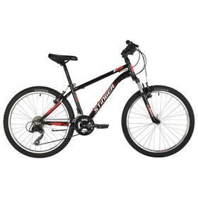 """Велосипед 24"""" Stinger Caiman, 2021, цвет черный, размер 12"""""""