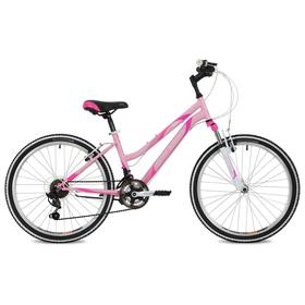 """Велосипед 24"""" Stinger Latina, 2021, цвет розовый, размер 12"""""""
