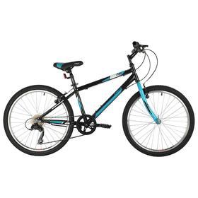"""Велосипед 24"""" Foxx Mango, цвет черный, размер 12"""""""