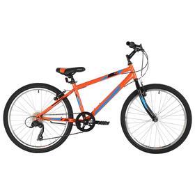 """Велосипед 24"""" Foxx Mango, цвет оранжевый, размер 12"""""""