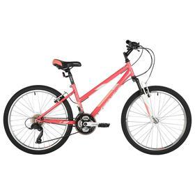 """Велосипед 24"""" Foxx Salsa, цвет розовый, размер 14"""""""