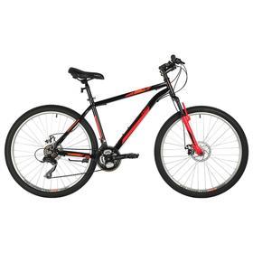 """Велосипед 27,5"""" Foxx Aztec D, цвет красный, размер 18"""""""