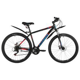 """Велосипед 27,5"""" Stinger Caiman D, цвет черный, размер 18"""""""