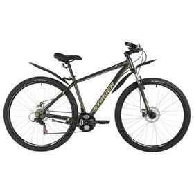 "Велосипед 29"" Stinger Caiman D, цвет зеленый, размер 18"""