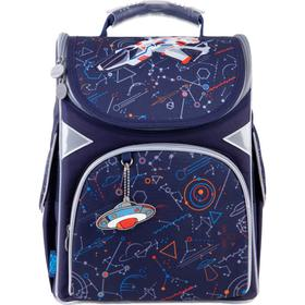 Ранец Стандарт GoPack 5001S 34*26*13 мал Spaceship, синий GO21-5001S-10