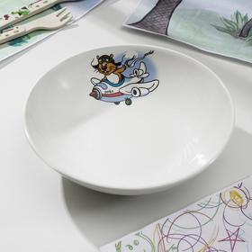 Тарелка суповая «Хома», 750 мл, d=19,5 см