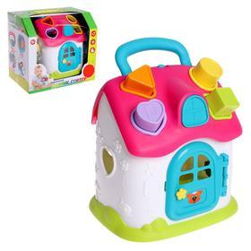 Развивающая игрушка «Домик-сортер», цвета МИКС