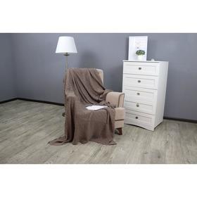 Плед вязаный Assai, размер 150x200 см, цвет кофейный