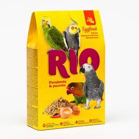 Яичный корм RIO для средних и крупных попугаев, 250 г