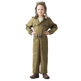 Карнавальный костюм «Танкист», возраст 8-10 лет, рост 140-152 см