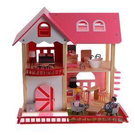 Кукольный дом с мебелью «Сказка» 54×8×55,9 см