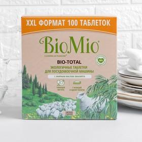 Таблетки для посудомоечной машины BioMio BIO-TOTAL с маслом эвкалипта 100 шт