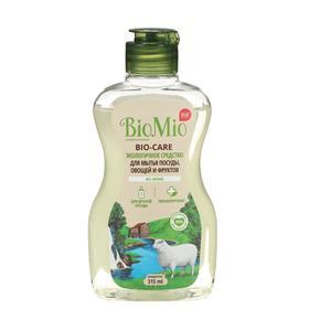 Средство для мытья посуды, овощей и фруктов BioMio BIO-CARE Без запаха, концентрат 315 мл
