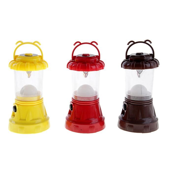 """Фонарь переносной """"Лампа"""", 9 LED, микс, 15х9 см"""