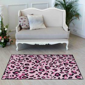 Ковер Этель «Розовый леопард» 80*120 см, 700г/м2
