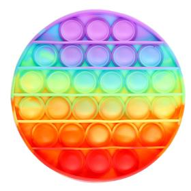 Развивающая игрушка «Вечная пупырка», круг, трехцветный, МИКС