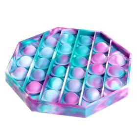 Антистресс игрушка «Вечная пупырка», трехцветные, МИКС