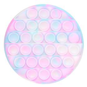 Антистресс игрушка «Вечная пупырка», круг, трехцветный, МИКС
