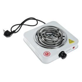 Плитка электрическая Econ ECO-112HP, 1000 Вт, 1 конфорка, белая