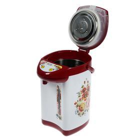 Термопот Econ ECO-400TP, 750 Вт, 4 л, бело-красный