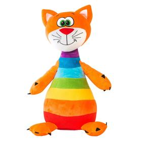 Мягкая игрушка «Котенок радужный», 47 см