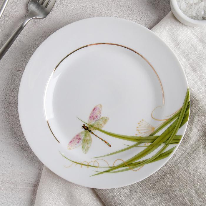 Тарелка детская десертная, цвет МИКС