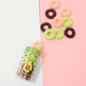 A set of rubber-springs in a tube