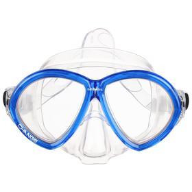 Маска для плавания Salvas Change Mask, закалённое стекло, Silflex, размер large