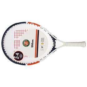 Ракетка для большого тенниса Wilson Roland Garros Elite 19, для 2-4 лет, алюминий, со струнами