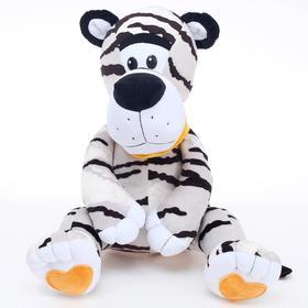 Мягкая игрушка «Тигр сидячий» белый, 41 см