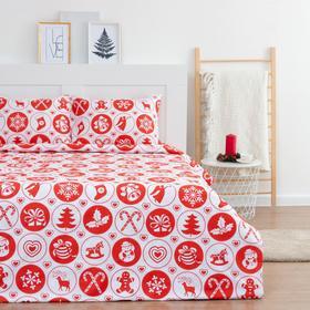 """Постельное белье LoveLife 1,5сп """"New Year's gifts"""" 143*215см,150*225см,50*70-2шт"""