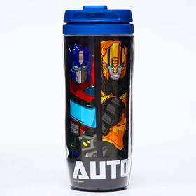 "Термостакан""Autobots"", Трансформеры, 350 мл"
