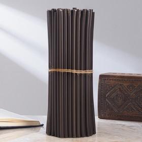 Свечи ритуальные чёрные № 20, 2 кг