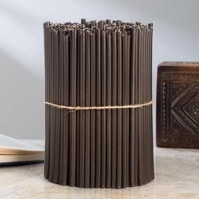 Свечи ритуальные чёрные № 60, 2 кг
