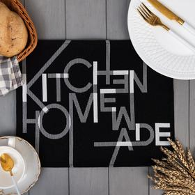 "Салфетка ""Этель"" Homemade 29х40 см, 100% пэ, 370 г/м2"