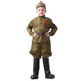 """Костюм военного """"Буденовец"""", возраст 3-5 лет, рост 104-116 см"""