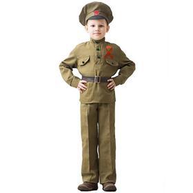 """Костюм военного """"Сержант"""", возраст 8-10 лет, рост 140-152"""