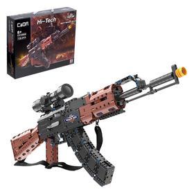 Конструктор модель оружия «АК-47», 738 деталей